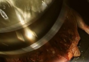 Курица табака в духовке   - фото шаг 3