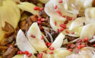 Говядина с луком и барбарисом - фото шаг 4