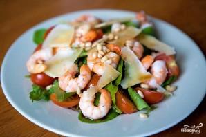 Салат из рукколы с креветками - фото шаг 5