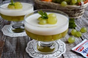 Виноградно-йогуртовое желе - фото шаг 10