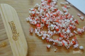 Крабовый салат 8 марта - фото шаг 3