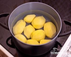 Картофель с творожным кремом - фото шаг 1