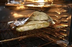 Картофельная запеканка с двумя видами сыра - фото шаг 8