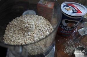 Овсяное печенье с белым шоколадом и миндалем - фото шаг 2