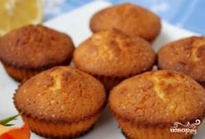 Лимонные кексы в силиконовых формочках - фото шаг 10