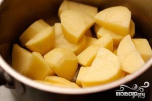 Картофельные клецки со шпинатом - фото шаг 1