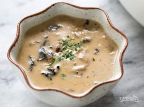Суп-пюре грибной - фото шаг 5