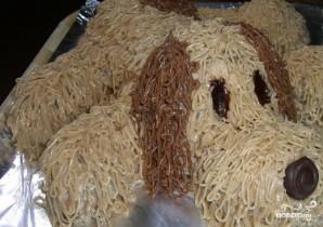Бисквитный детский торт - фото шаг 5