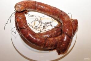 Домашняя сыровяленая колбаса - фото шаг 7