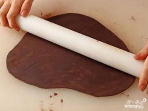 Шоколадные розы - фото шаг 1