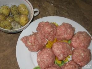 Тефтели с картофелем - фото шаг 2