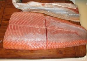 Крем-суп из лосося - фото шаг 1
