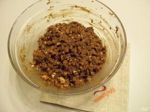 Шоколадная колбаса из печенья - фото шаг 6