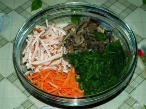 Салат из вешенок - фото шаг 10