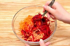 Свекольный салат с яблоком - фото шаг 3