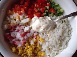 Крабовый салат обычный - фото шаг 9