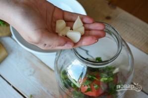 Малосольные помидоры по-грузински - фото шаг 6