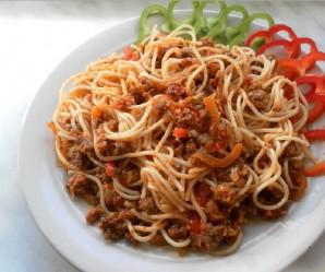 Паста с томатным соусом - фото шаг 3