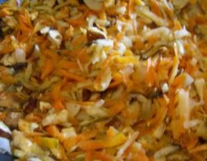 Пудинг овощной - фото шаг 3