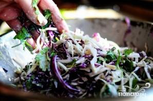 Сэндвичи со свининой и капустой - фото шаг 3