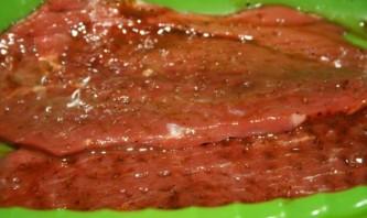 Ромштекс из говядины на гриле - фото шаг 3