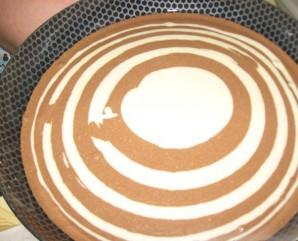 "Торт ""Зебра"" (классический рецепт) - фото шаг 6"