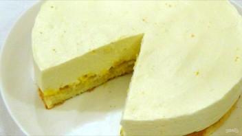 Чизкейк апельсиновый - фото шаг 7