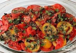 Запеканка из баклажанов с помидорами и сыром - фото шаг 7