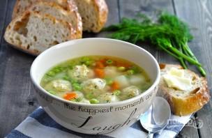 Суп с фрикадельками из фарша - фото шаг 7
