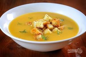 Суп гороховый с сухариками - фото шаг 9