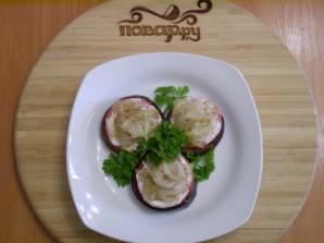 Баклажаны жареные с помидорами и луком - фото шаг 11