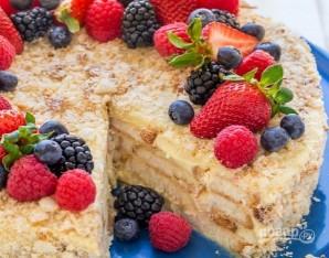 "Торт ""Наполеон"" без выпечки - фото шаг 7"