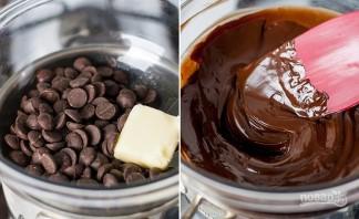 Торт шоколадно-муссовый - фото шаг 11