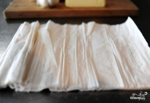 Конвертики с грибами - фото шаг 5