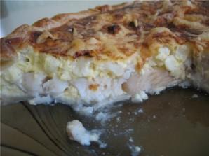 Заливной пирог с рыбой - фото шаг 3