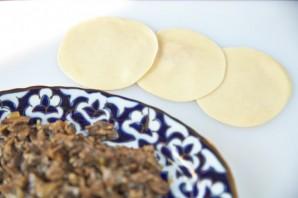 Манты с грибами - фото шаг 5