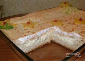 Пирог c воздушным творогом и яблоками - фото шаг 10