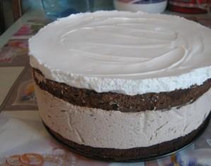 Шоколадный мусс для торта - фото шаг 4