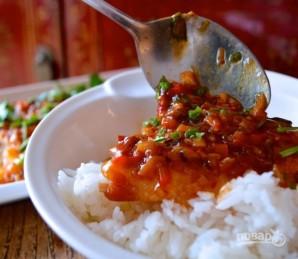 Рис с рыбой - фото шаг 5