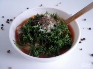 Соус к шашлыку из томатной пасты - фото шаг 3