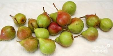 Грушевое варенье с виноградом - фото шаг 1