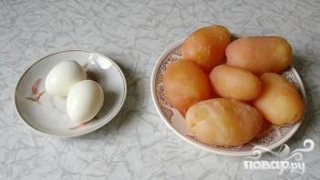 Зимний картофельный салат - фото шаг 1