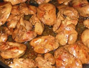 Печень с черносливом - фото шаг 2