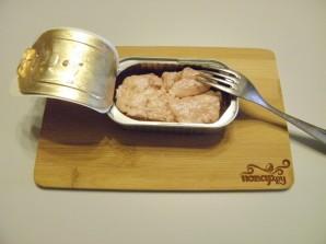 Салат из печени трески - фото шаг 1