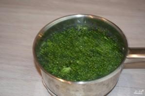 Капуста брокколи под сливочным соусом - фото шаг 5