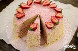 Вкусный бисквитный торт - фото шаг 16