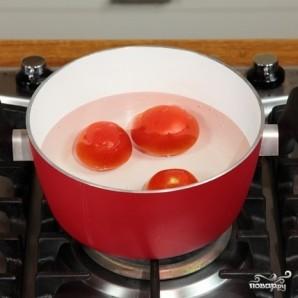 Спагетти с помидорами - фото шаг 1