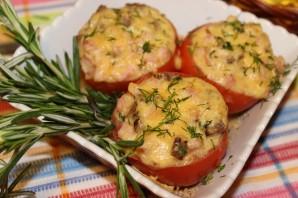 Фаршированные помидоры ветчиной и сыром - фото шаг 4