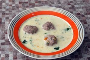Сырный суп с фаршем - фото шаг 10