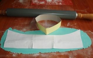 "Торт ""Рубашка с галстуком"" - фото шаг 11"